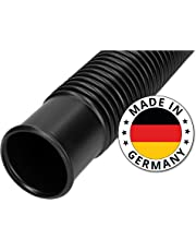 SL247 Poolschlauch 38mm Schwarz 15m Lang I Schwimmbadschlauch Zum Anschließen der Sandfilterpumpe an Den Pool I Made in Germany