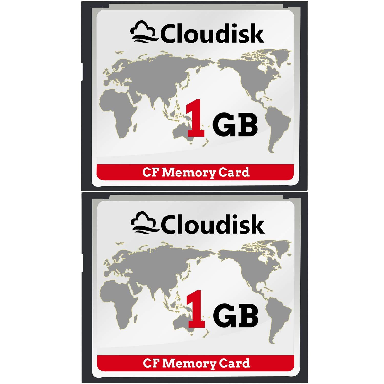 2pcs 1GB Rendimiento De La Tarjeta De Memoria Compact Flash ...