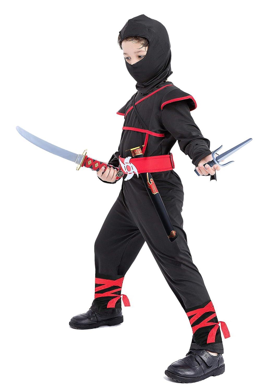 Ninja Costume for Boys 4T-12