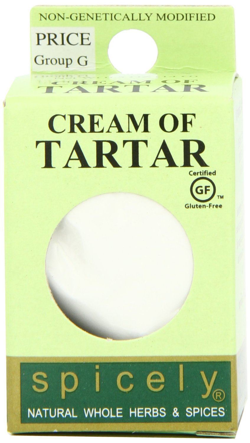 Spicely Cream of Tartar 0.50 Ounce ecoBox Certified Gluten-Free