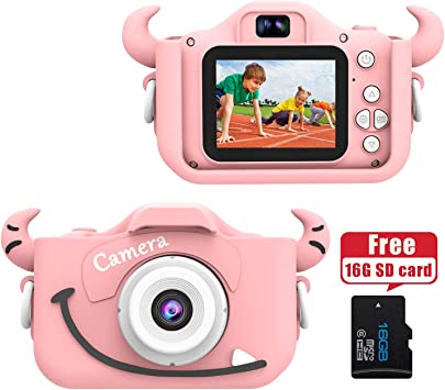 Amazon.es: Wurkkos Cámara Digital de 12.0 Megapixeles para niños ...