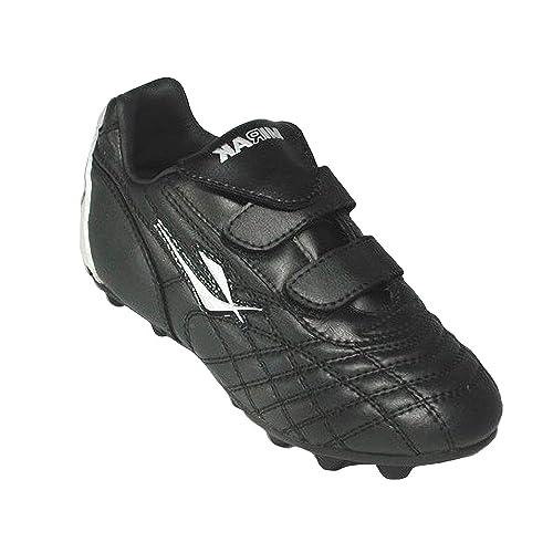 Mirak Forward - Botines de fútbol/rugby con tachuelas removibles para niños: Amazon.es: Zapatos y complementos