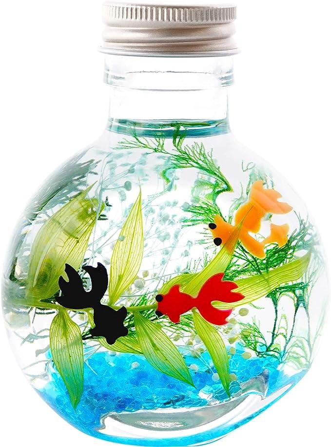 花まりか 金魚ハーバリウム
