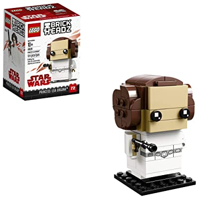LEGO 6225350 Brickheadz Princess Leia Organa 41628 Building Kit, Multicolor: Toys & Games