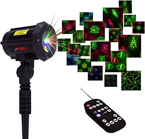 Moving Firefly RGB Outdoor Garden Laser Christmas Lights with Remote Control-LP