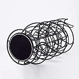 Toplife Spiral Design Metal Egg Skelter Dispenser