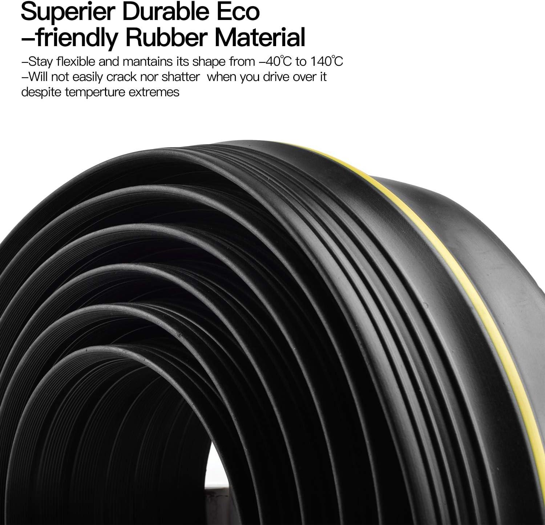 11.5FT Garage Door Threshold Seal Weatherproof Easy Cut Replacement Strip 11.5ft//3.5m