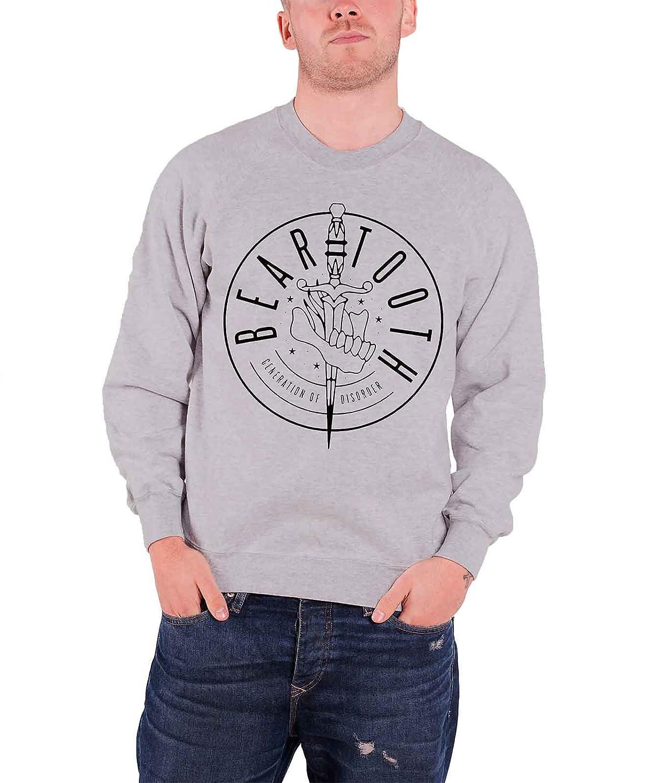 Beartooth Sweatshirt Generation Band Logo offiziell Herren Nue Grau Beartooth Merchandise