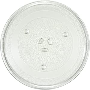 "HQRP 10"" / 25.5cm Glass Turntable Tray Compatible with Maytag, Magic Chef, Samsung, GE General Electric, Panasonic, JcPenney, Oster, Emerson, Daewoo, Rival, Ewave Microwave Oven Plate 10-inch 255mm"