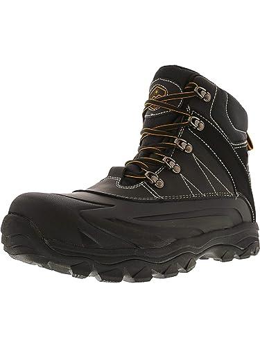 beb89a4e904e Khombu Men s Fitzroy Black Mid-Calf Snow Boot - 10M