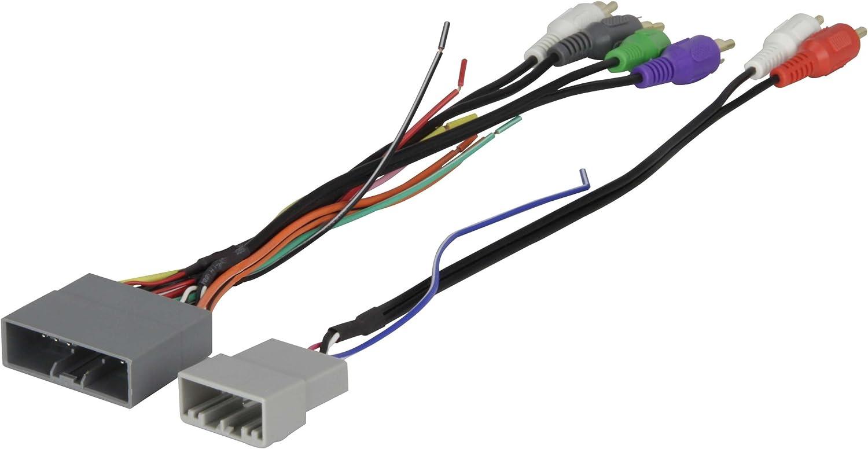 Amazon.com: Scosche HA13B Compatible with 2006-11 Honda Civic Amplified  System Wire Harness/Connectors; 4CH RCA w/Sub Amp Input Wire Harness/Connector,  Non-Navigation: Car ElectronicsAmazon.com