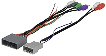 71XqhytVCgL._SX355_ amazon com scosche ha13b 2006 11 honda civic non nav amp honda factory radio wire harness codes at bayanpartner.co