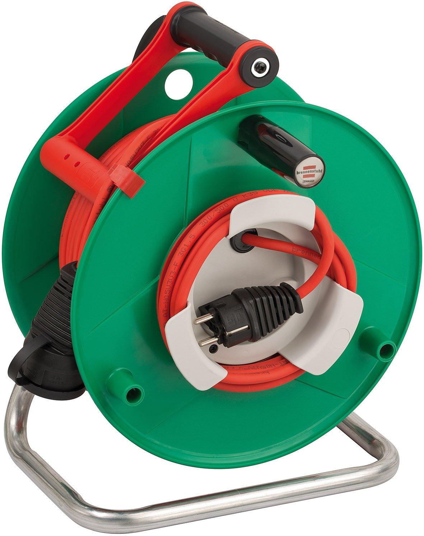 Brennenstuhl Garant G Bretec 1183530 IP44 Super Solid Garden Cable Reel 50 m AT-N05V3V3-F3G1.5 by Brennenstuhl
