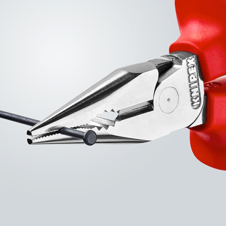 KNIPEX 08 26 145 Pince universelle multifonction /à becs demi-ronds homologu/ée VDE