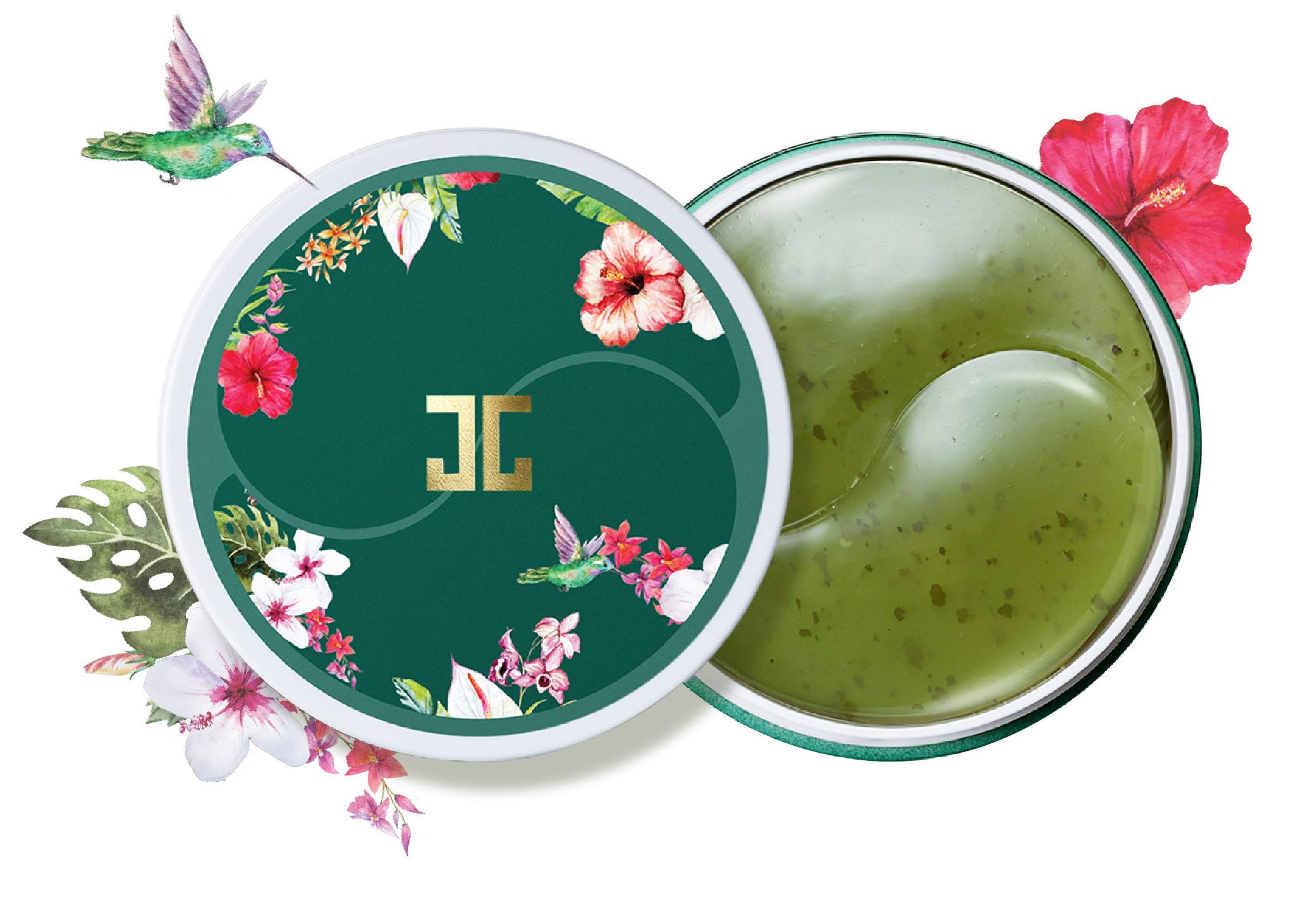 JAYJUN Eye Gel Patch (1.4g x 60ea) (Green Tea)