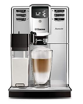 Saeco Incanto - Cafetera (Independiente, Máquina espresso, 1,8 L, Molinillo integrado, 1850 W, Plata): Amazon.es: Hogar