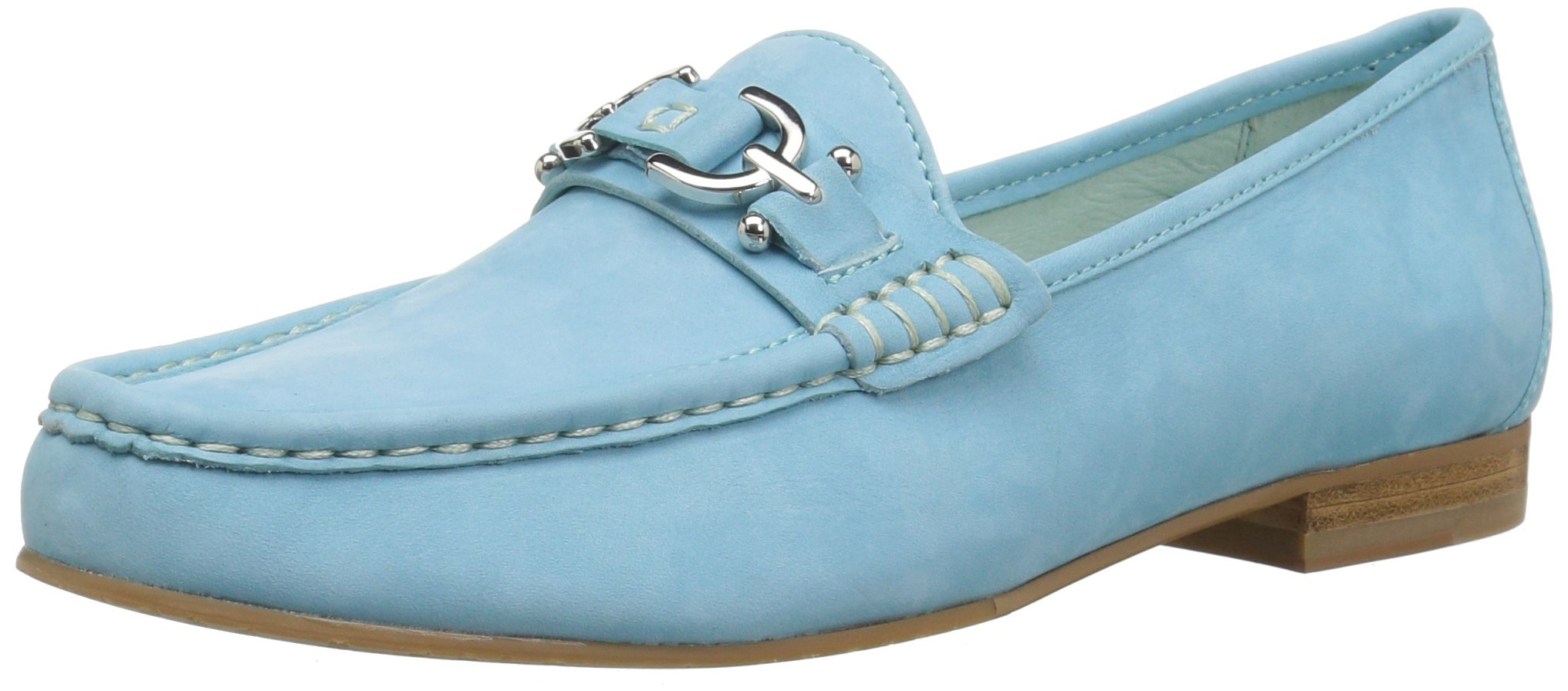Donald J Pliner Women's Suzy Loafer Flat, Capri, 10 Medium US