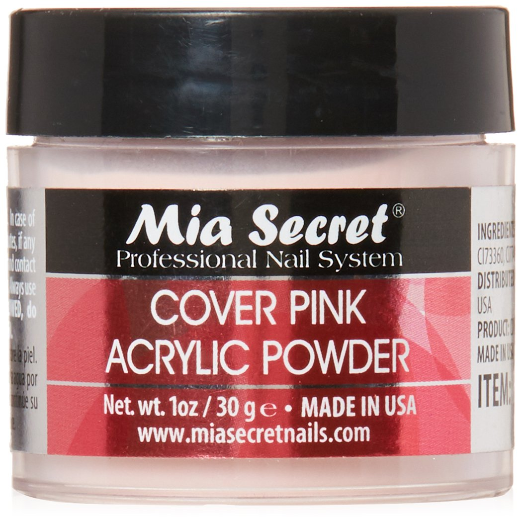 Mia Secret Cover Pink Acrylic Powder 2 Oz by Mia Secret