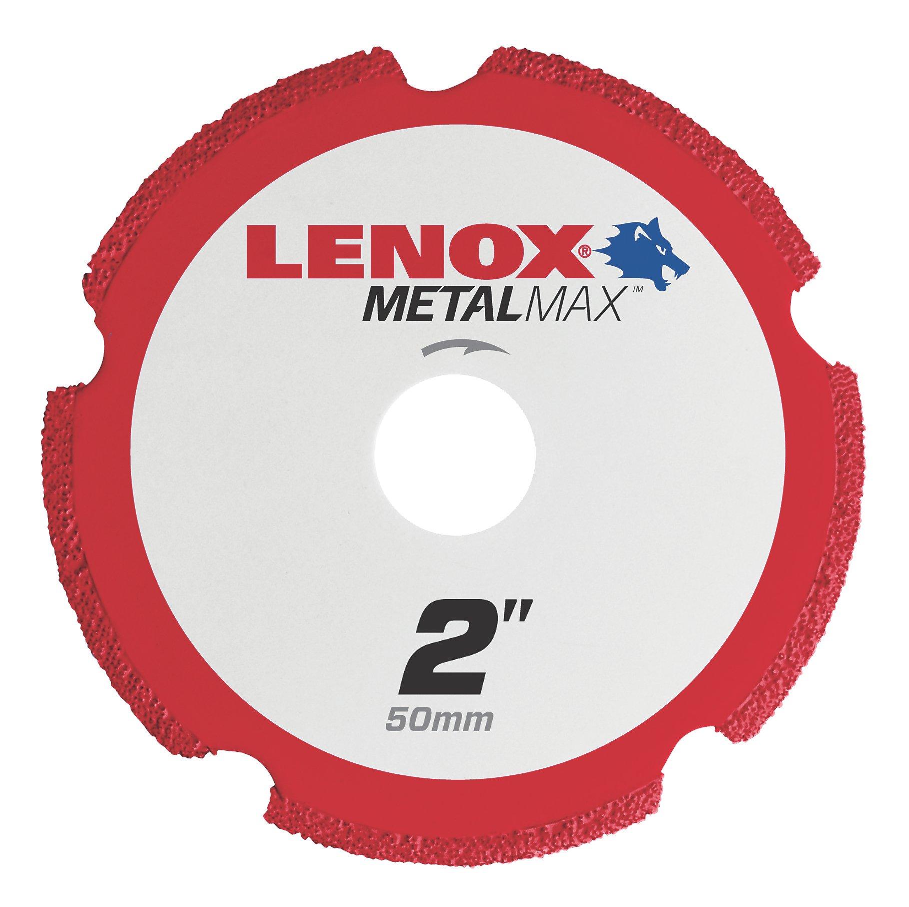 Lenox Tools 1972917 METALMAX Diamond Edge Cutoff Wheel, 2'' x 3/8''