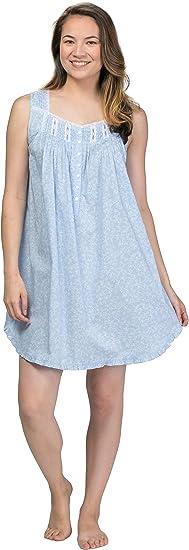 Eileen West Short Nightgown Sleeveless