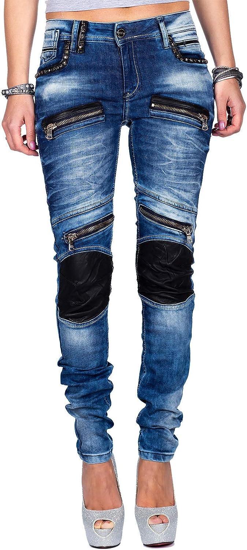 Slim Femme Bleu Bleu Jeans Cipo /& Baxx