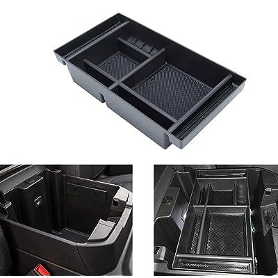 AORRO Center Console Organizer Tray Fit for 2020-2020 Chevy Silverado 1500/GMC Sierra 1500, and 2020 Chevy Silverado/GMC Sierra 2500/3500 HD, Full Console w/Bucket Seats ONLY: Automotive