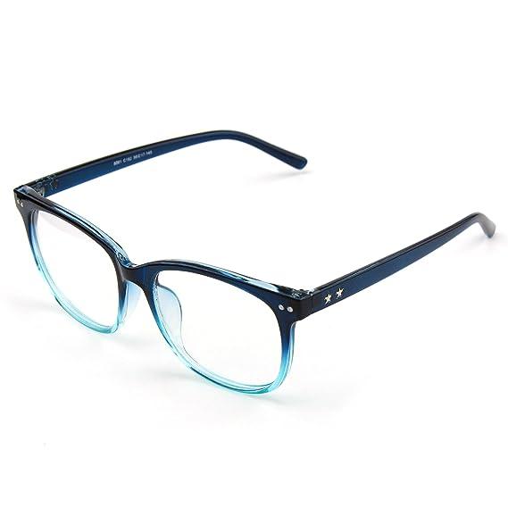 CGID CN81 Retro Anteojos Lente Claro Gafas Para Mujer y Hombre