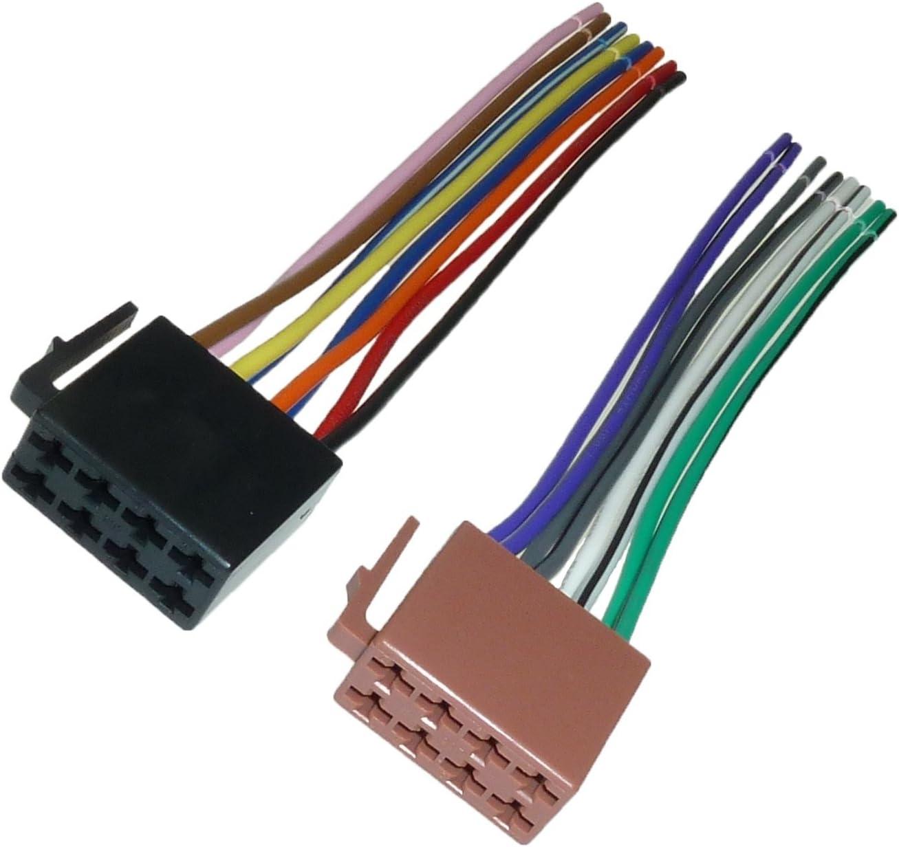 Adapter Universe Din Iso Auto Radio Adapter Kabel Stecker Strom Lautsprecher 16 Pin Auto