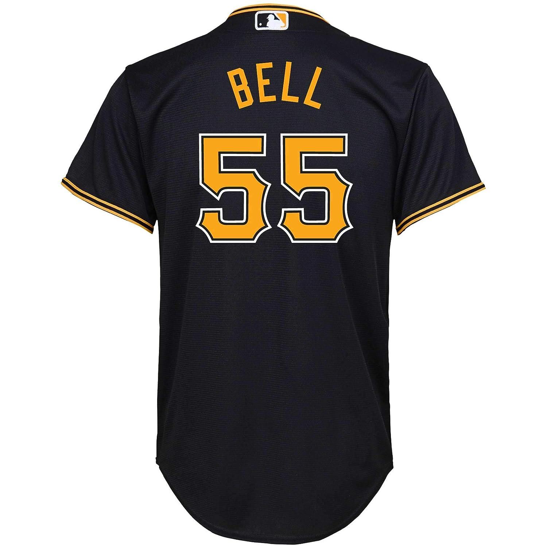 brand new 70bff 6d5f3 Amazon.com: Josh Bell Pittsburgh Pirates Black Youth Cool ...