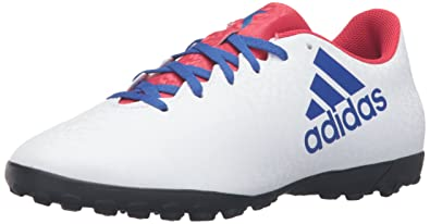 5f23f2f583c71 Amazon.com | adidas Women's x 16.4 tf w Soccer Shoe, White/Cobalt ...