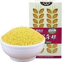 幸运谷 【新鲜真空】有机黄小米490g 新鲜 新米 粘糯可口