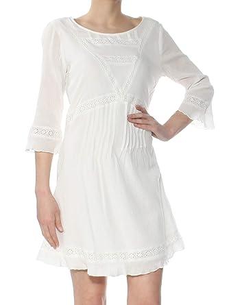 07b94459634f Sanctuary Womens Ellie Crinkled Eyelet Casual Dress at Amazon Women's  Clothing store: