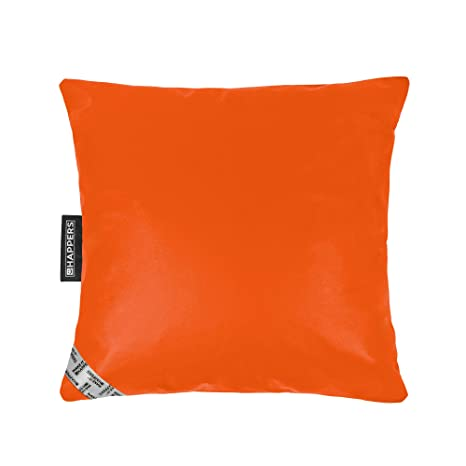 HAPPERS Cojín 50x50 Polipiel Indoor Naranja