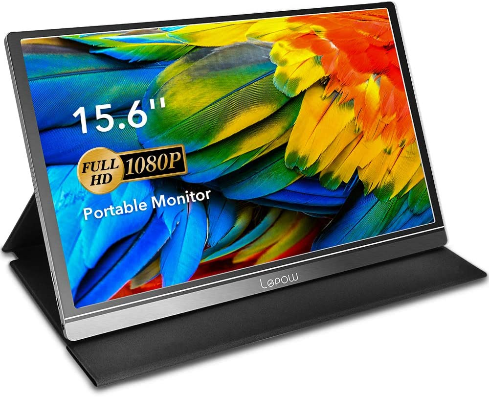 Amazon.com: Portable Monitor - Lepow 15.6 Inch Computer Display ...