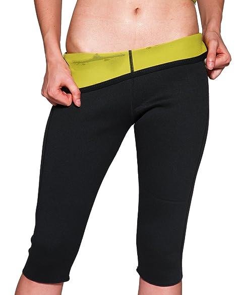 5690879ee0 Aliex Womens Slimming Pants High Waist Sauna Body Shaper Hot Sweat Thermo  Weight Loss Capri M