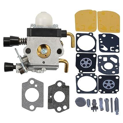 Garden Tools Carburetor Kit For St Fs38 Fs45 Fs46 Fs46c Fs55 Fs55r Km55r Fc55 Fs75 Fs80 Fs85 Trimmer C1q-s186a C1q-s143 C1q-s153 C1q-s71