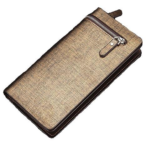 DRHYSFSA-Luggage Monedero de los Hombres Bolso de la muñeca ...