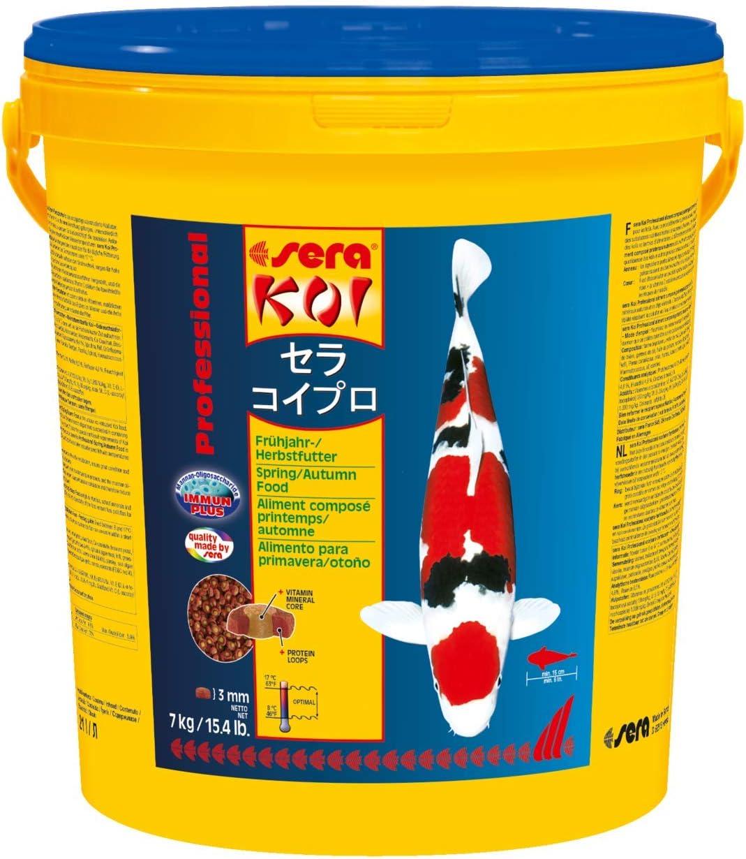 Sera 7009 KOI Professional Spring/Autumn 15.4 lb 7 kg Pet Food, One Size