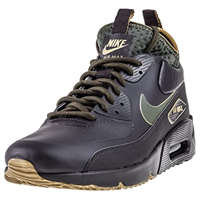 size 40 f861e 850ad Nike Air Max 90 Ultra Mid Winter Se Hommes Hi Top AA4423 Sneakers Chaussures  (UK