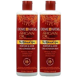 Creme of Nature Argan Oil Curl Activator Crème 12oz