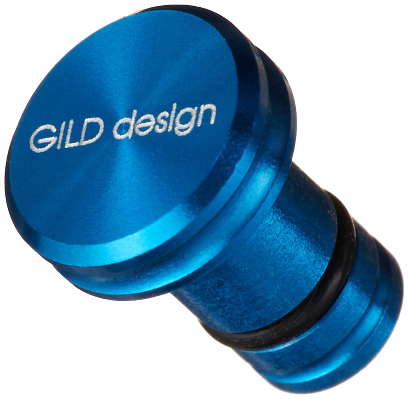 クロール起きて宇宙のGILDdesign アルミ削り出しイヤホンジャックカバー シルバー GA-200S