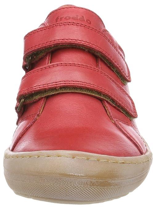 Froddo Children Shoe G3130115-2, Zapatillas para Niñas, Rojo (Red I01), 25 EU