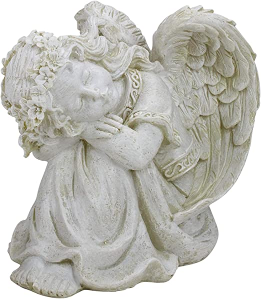 "Regal Ivory Angel Decor 14.5/"""