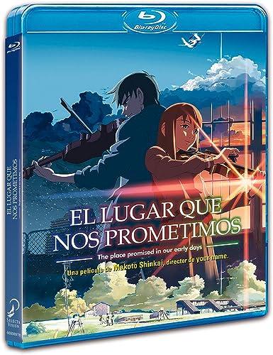 El Lugar Que Nos Prometimos Blu-Ray [Blu-ray]: Amazon.es: Animación, Makoto Shinkai, Animación: Cine y Series TV