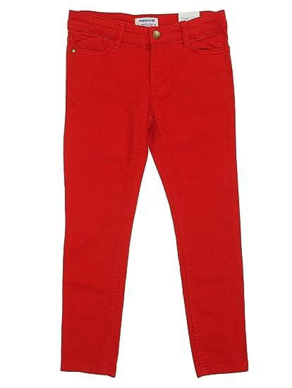 e58c1994 Mayoral - Twill Pants Super Slim fit for Boys - 3544, Cherry: Amazon.co.uk:  Clothing