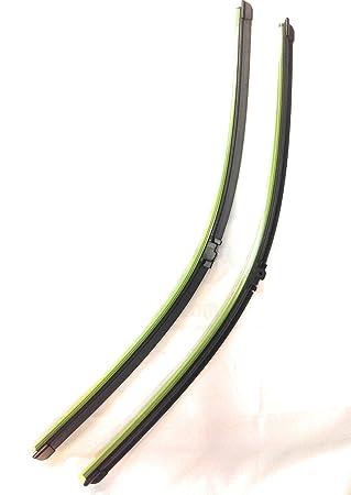 Nuevo mejor calidad par limpiaparabrisas cuchillas para MB Clase E 03 - 09 SL 03 - 06 + más 2118201445 2118202945 3397118948 2118200045 2118201045 ...