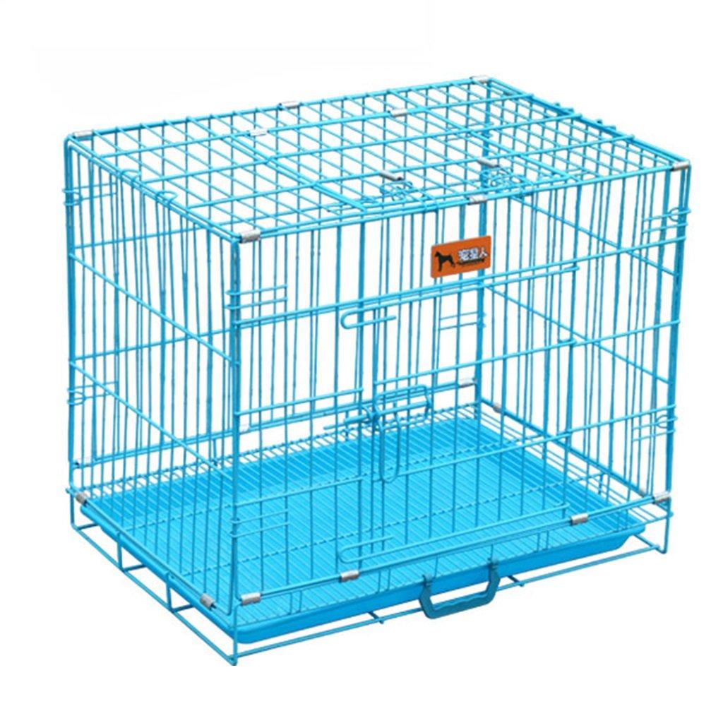 新品本物 ディバイダー、ブルーFoldableポータブルペットキャットハウスPlaypenトレイ 85*60*70cm、屋内屋外犬舎付きメタルメディア犬用ボックス (サイズ さいず : Large : 85 Large*60*70cm) Large 85*60*70cm B07DW2WK76, 長与町:b4fd185e --- a0267596.xsph.ru
