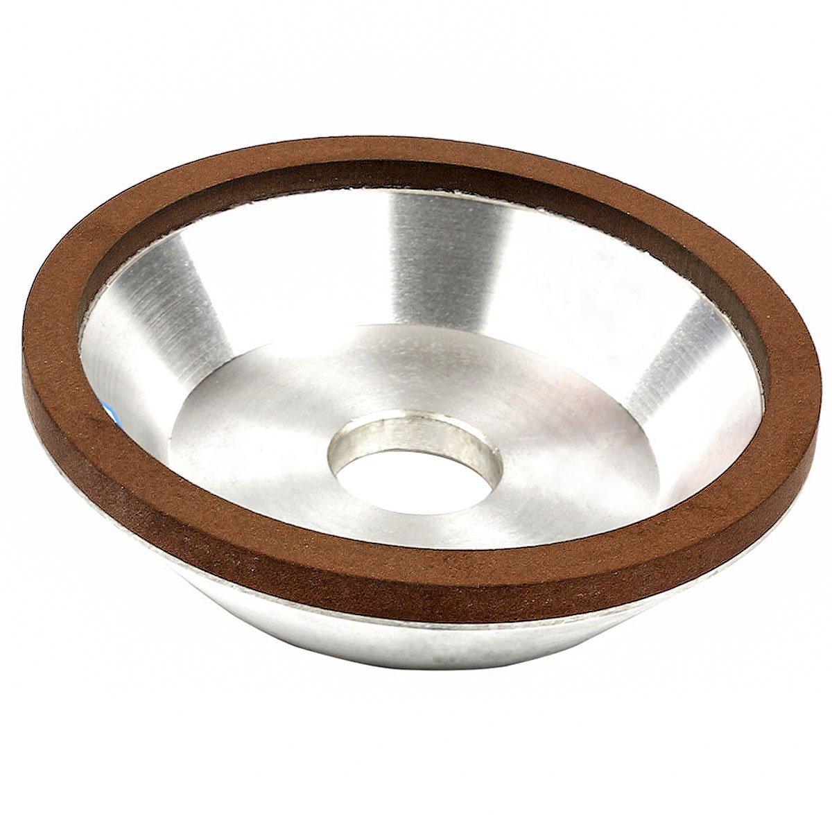 Kuntemu Diamond Grinding Wheel Grinding Disc 125x32x32x10x3 Mill Sharpening Grinding Wheel Rotary Abrasive Tools