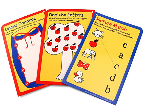 Amazon.com : Hygloss Products Student Alphabet Language Cards, Lowercase Letters - 32 Write & Wipe for Kinesthetic Learning : Office Products