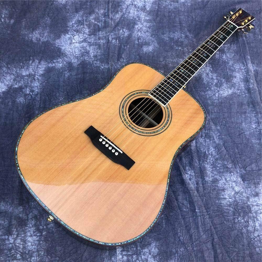 ABMBERTK , Guitarra, Tapa de pícea Maciza, Guitarra acústica ...